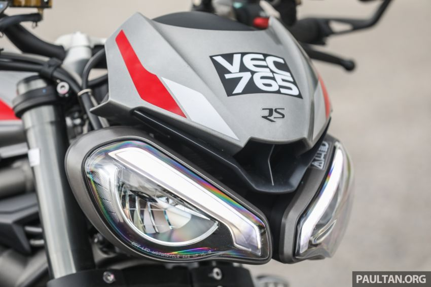 REVIEW: 2020 Triumph Street Triple 765RS naked sports – more of the same, but better, at RM67,900 Image #1054505