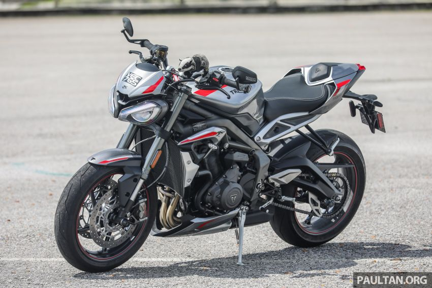 REVIEW: 2020 Triumph Street Triple 765RS naked sports – more of the same, but better, at RM67,900 Image #1054484