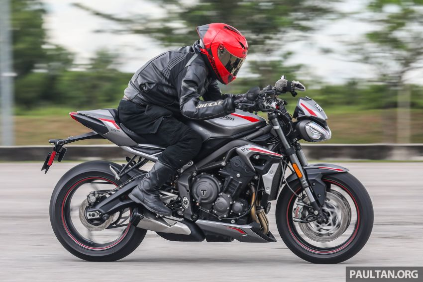 REVIEW: 2020 Triumph Street Triple 765RS naked sports – more of the same, but better, at RM67,900 Image #1054551