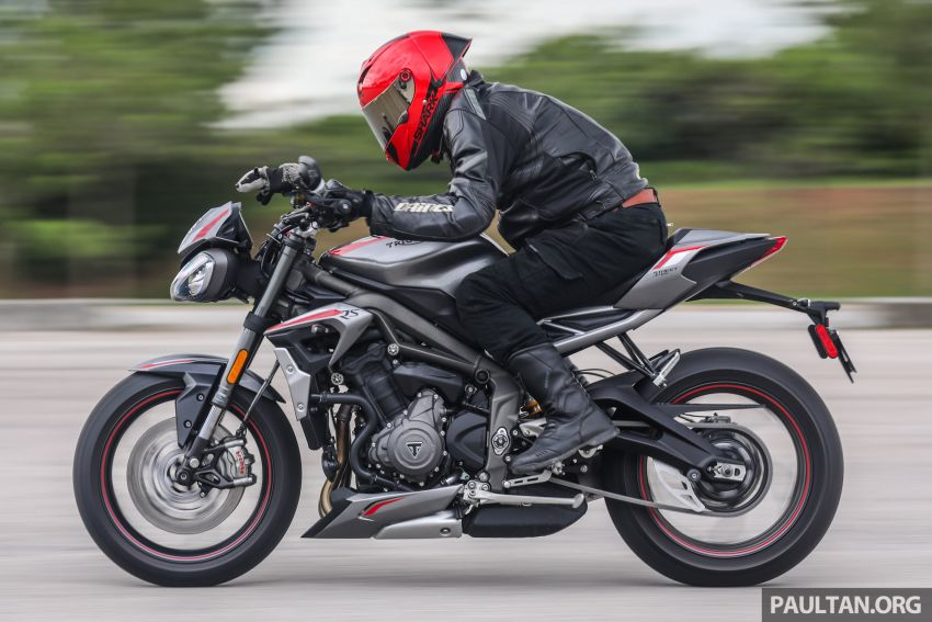 REVIEW: 2020 Triumph Street Triple 765RS naked sports – more of the same, but better, at RM67,900 Image #1054552