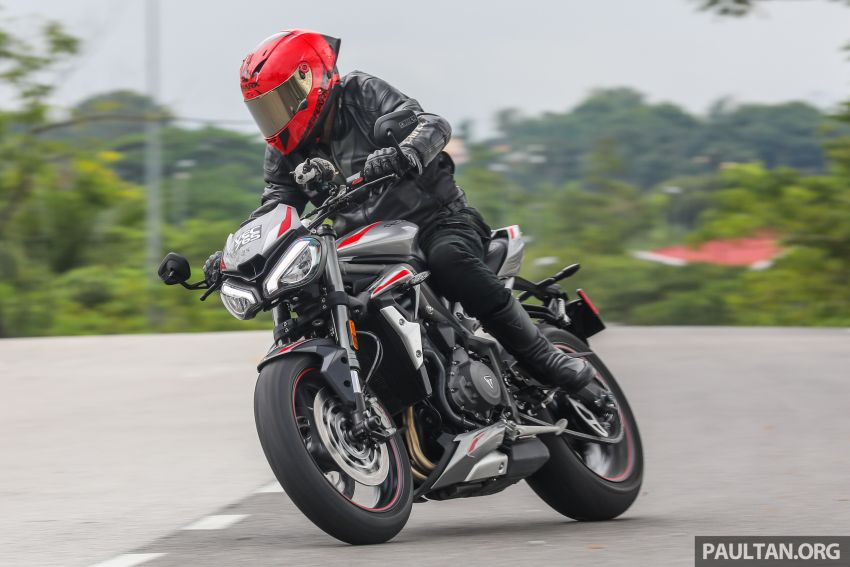 REVIEW: 2020 Triumph Street Triple 765RS naked sports – more of the same, but better, at RM67,900 Image #1054554