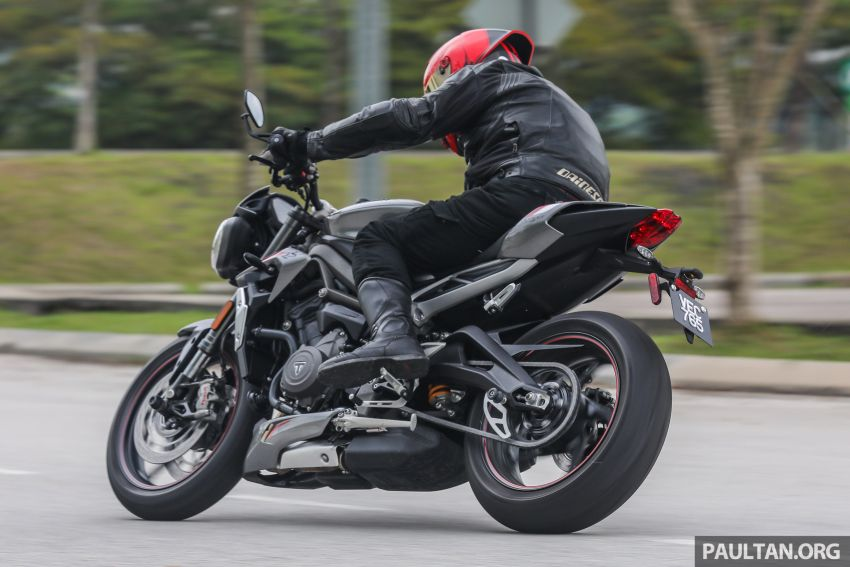 REVIEW: 2020 Triumph Street Triple 765RS naked sports – more of the same, but better, at RM67,900 Image #1054559