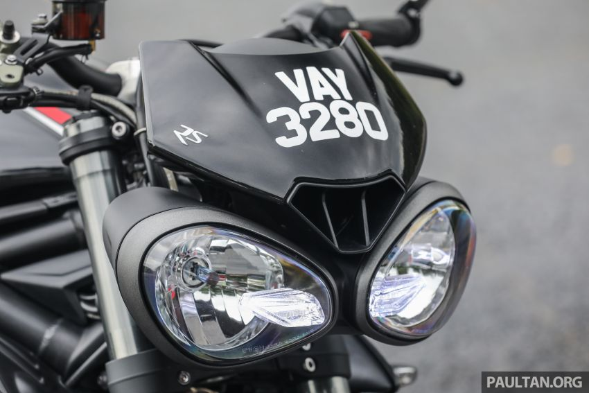 REVIEW: 2020 Triumph Street Triple 765RS naked sports – more of the same, but better, at RM67,900 Image #1054566