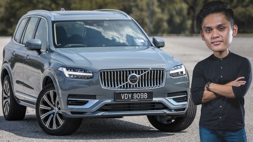 FIRST DRIVE: 2020 Volvo XC90 T8 facelift in Malaysia Image #1060308