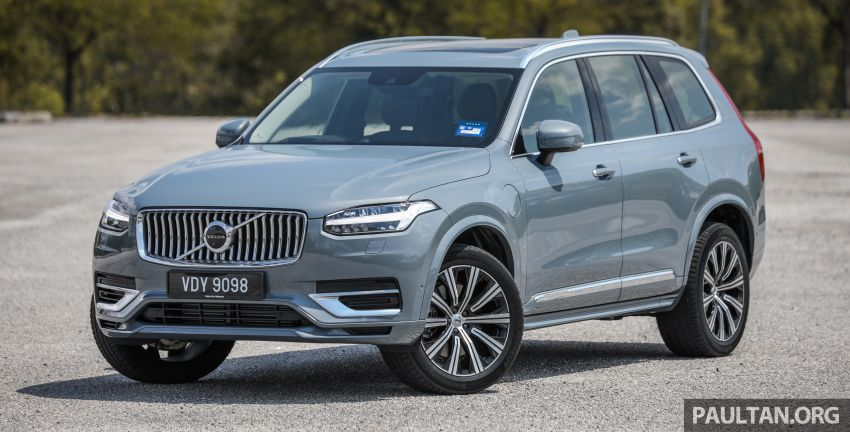 FIRST DRIVE: 2020 Volvo XC90 T8 facelift in Malaysia Image #1060337