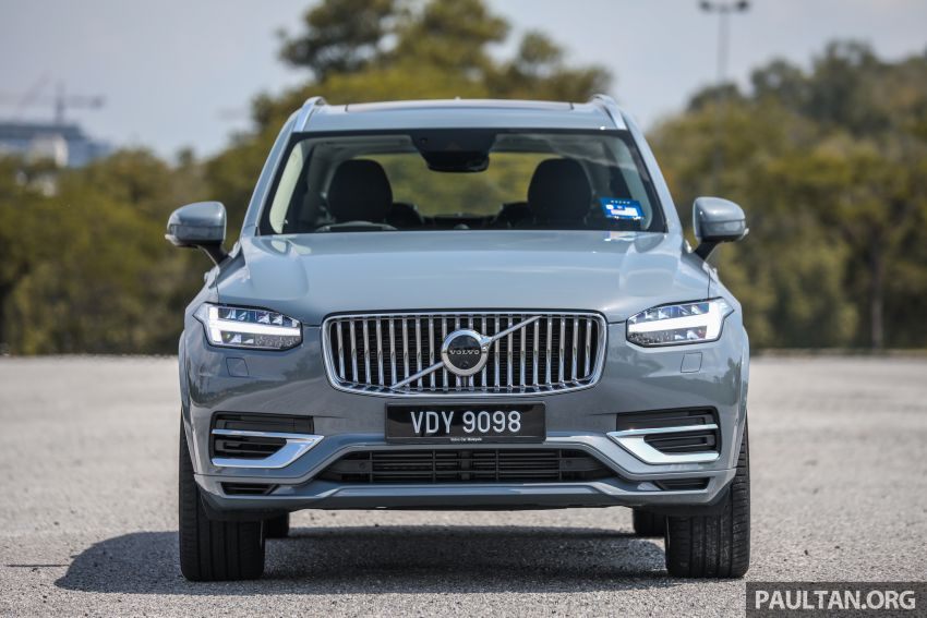 FIRST DRIVE: 2020 Volvo XC90 T8 facelift in Malaysia Image #1060346
