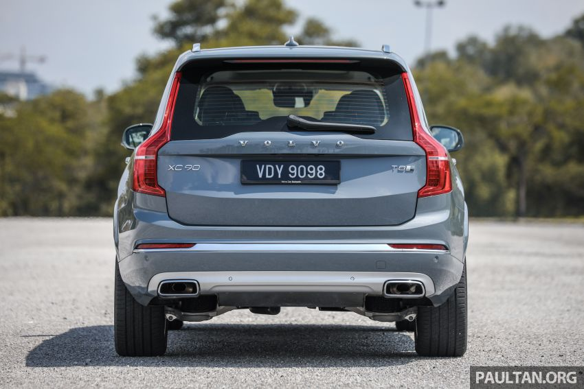 FIRST DRIVE: 2020 Volvo XC90 T8 facelift in Malaysia Image #1060348