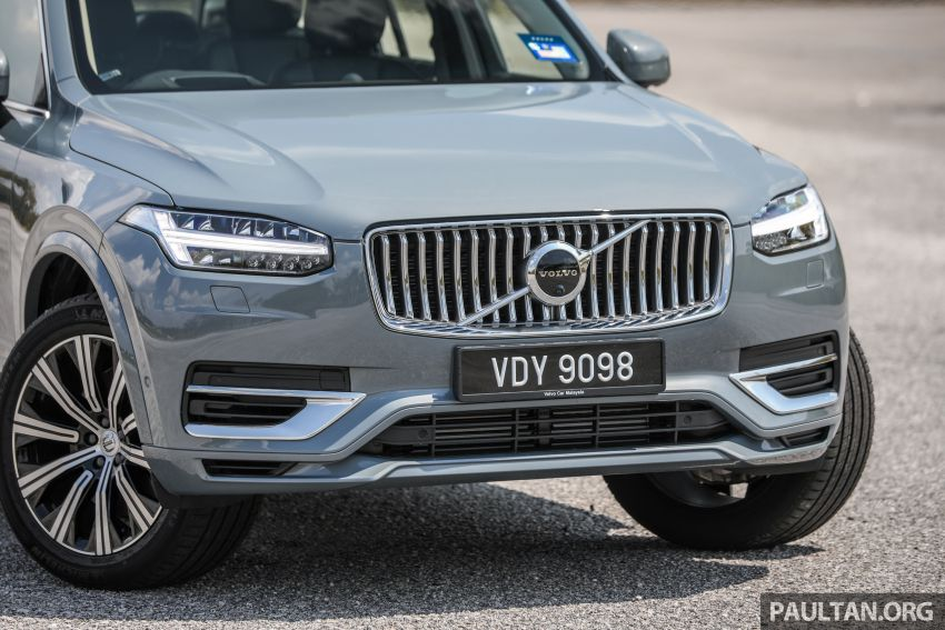FIRST DRIVE: 2020 Volvo XC90 T8 facelift in Malaysia Image #1060350