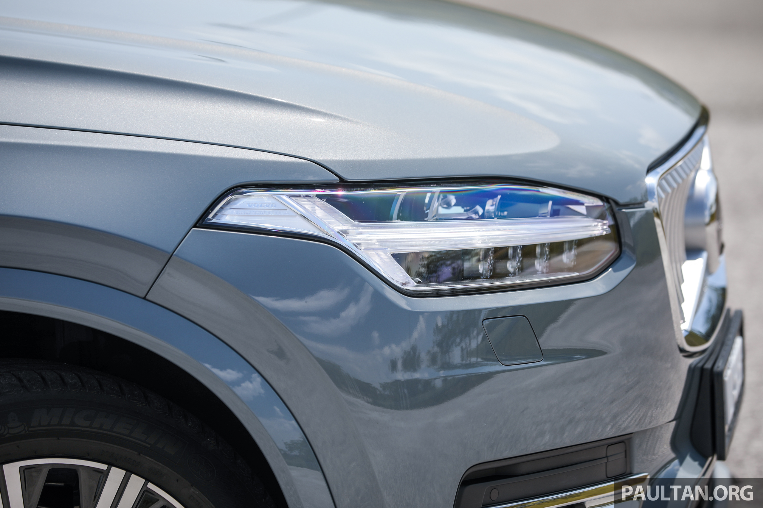 first drive  2020 volvo xc90 t8 facelift in malaysia paul tan