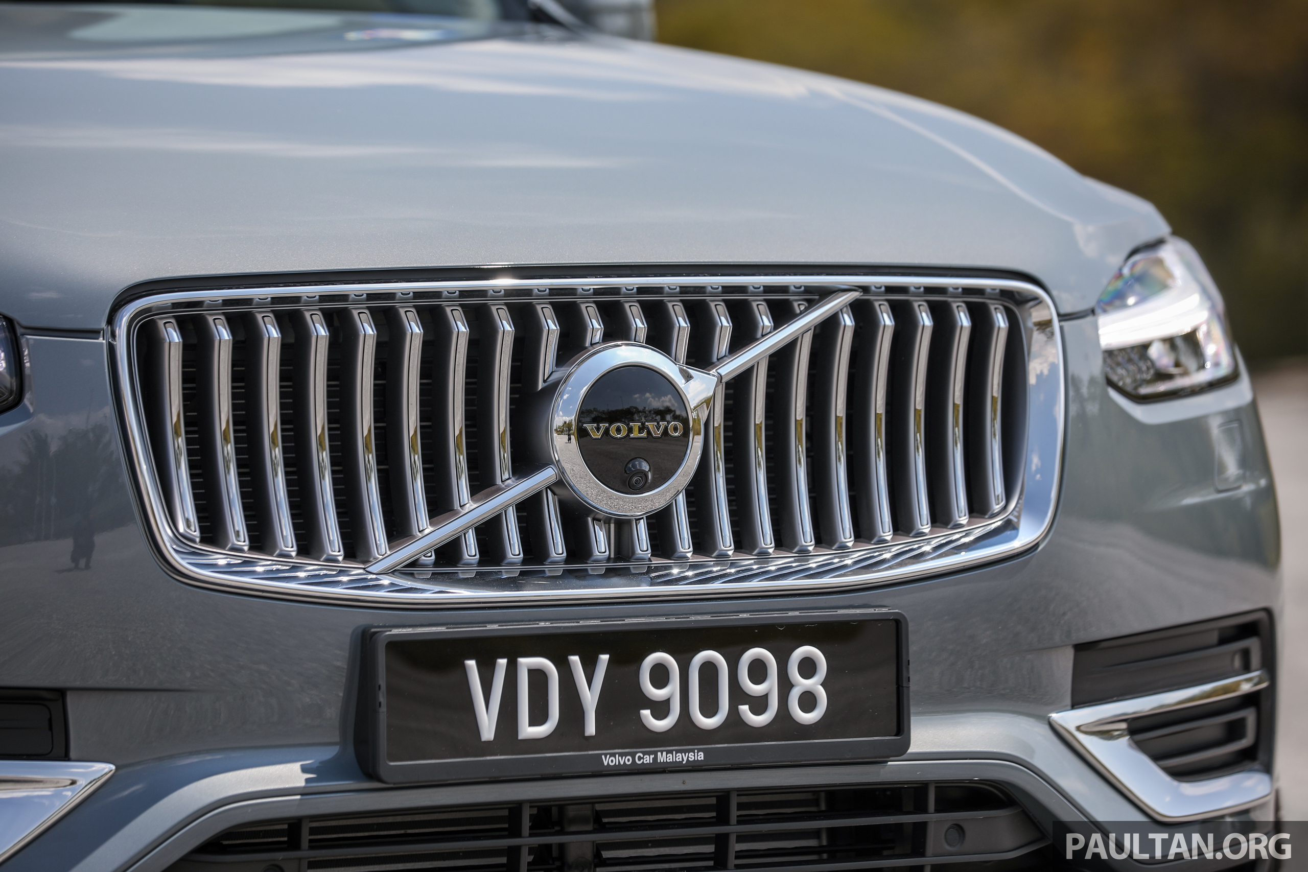 first drive  2020 volvo xc90 t8 facelift in malaysia paul