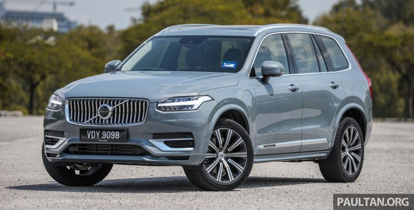 FIRST DRIVE: 2020 Volvo XC90 T8 facelift in Malaysia Image #1060338