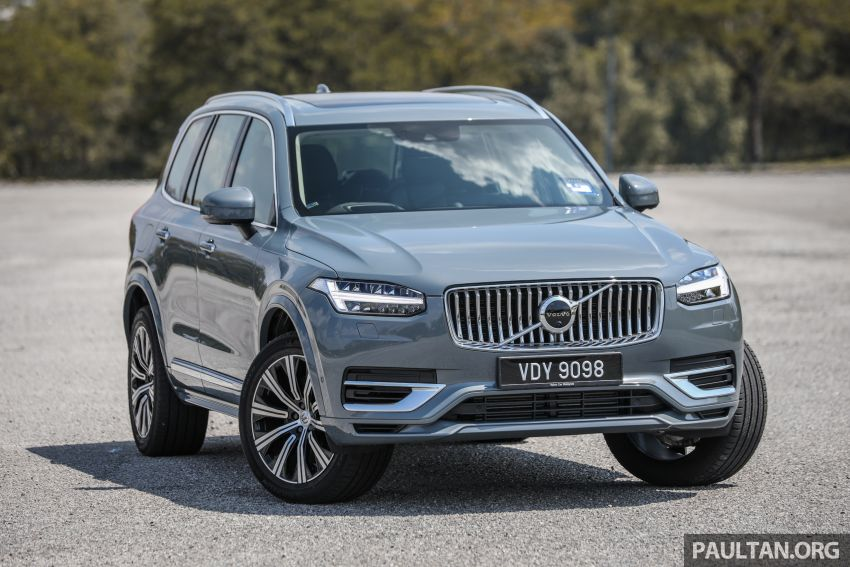 FIRST DRIVE: 2020 Volvo XC90 T8 facelift in Malaysia Image #1060339