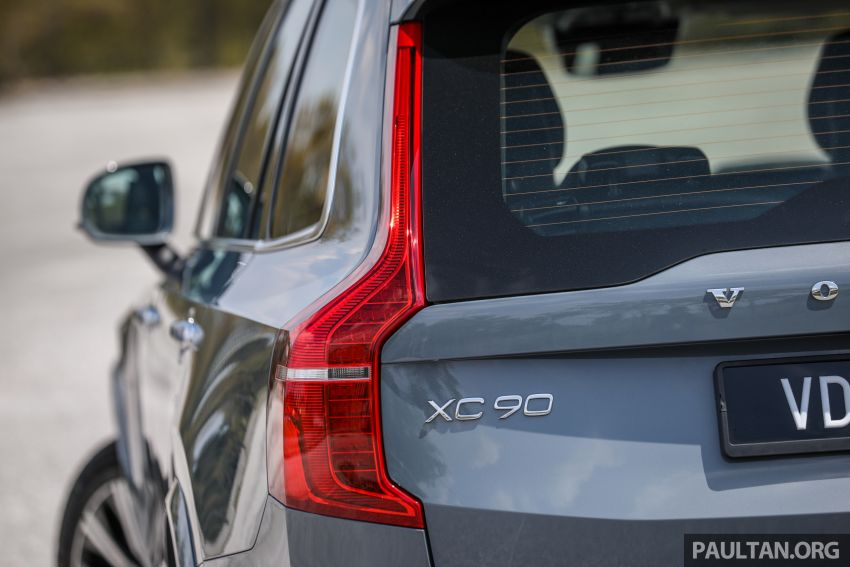 FIRST DRIVE: 2020 Volvo XC90 T8 facelift in Malaysia Image #1060369