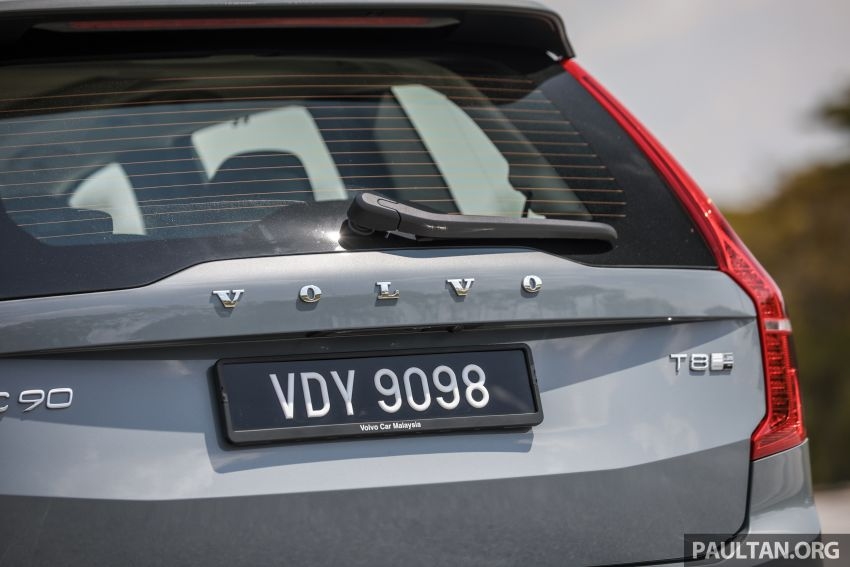 FIRST DRIVE: 2020 Volvo XC90 T8 facelift in Malaysia Image #1060373