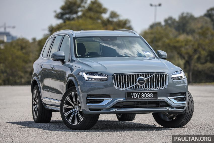 FIRST DRIVE: 2020 Volvo XC90 T8 facelift in Malaysia Image #1060340