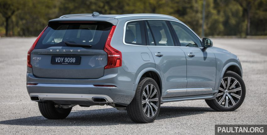 FIRST DRIVE: 2020 Volvo XC90 T8 facelift in Malaysia Image #1060341