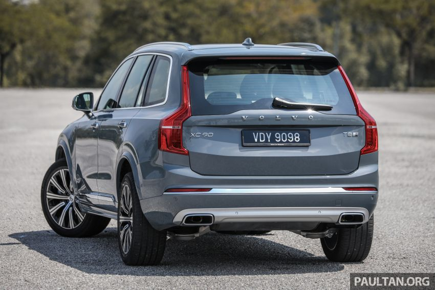 FIRST DRIVE: 2020 Volvo XC90 T8 facelift in Malaysia Image #1060343