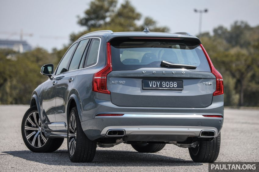 FIRST DRIVE: 2020 Volvo XC90 T8 facelift in Malaysia Image #1060344