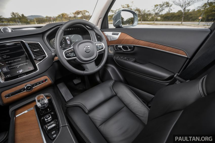 FIRST DRIVE: 2020 Volvo XC90 T8 facelift in Malaysia Image #1060414