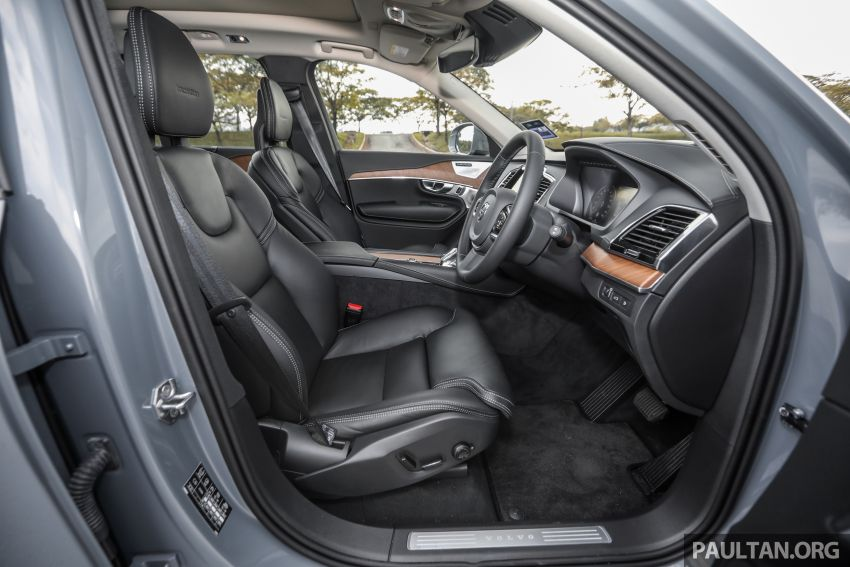 FIRST DRIVE: 2020 Volvo XC90 T8 facelift in Malaysia Image #1060421