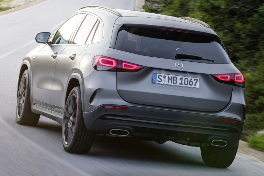 H247 Mercedes-Benz GLA revealed – BMW X2 rival grows taller and receives new tech and engines Image #1058610