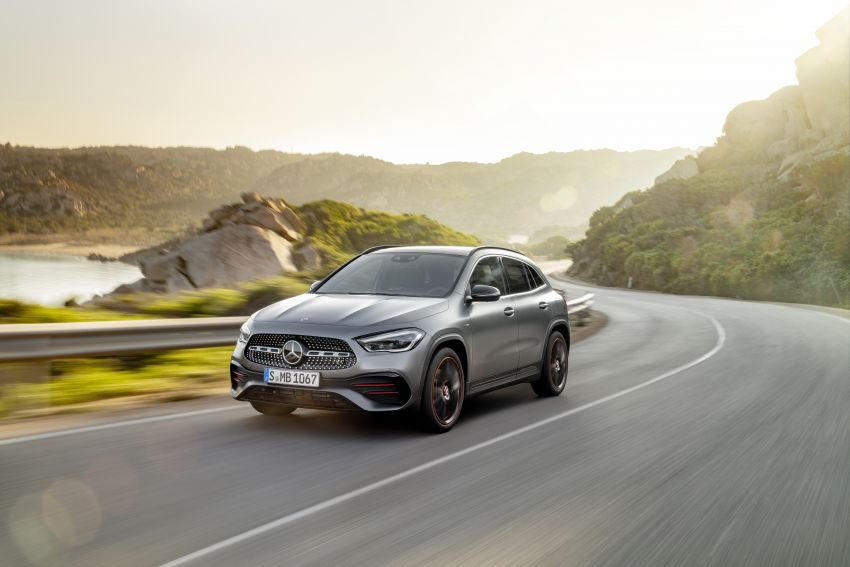 H247 Mercedes-Benz GLA revealed – BMW X2 rival grows taller and receives new tech and engines Image #1058601