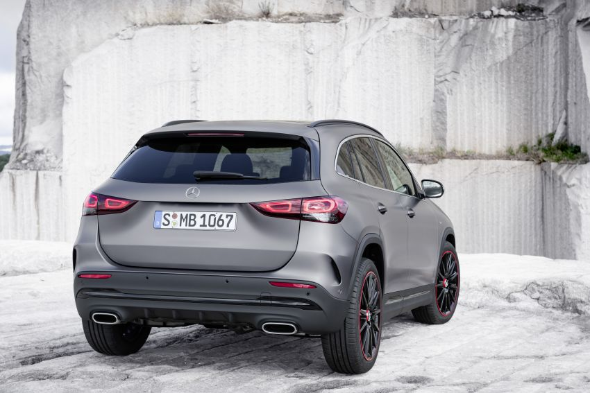 H247 Mercedes-Benz GLA revealed – BMW X2 rival grows taller and receives new tech and engines Image #1058620