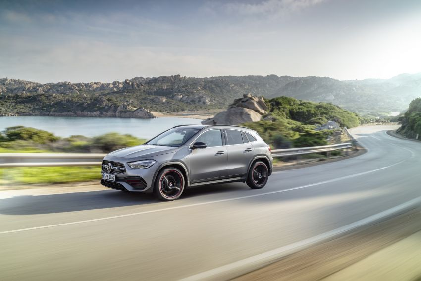 H247 Mercedes-Benz GLA revealed – BMW X2 rival grows taller and receives new tech and engines Image #1058602