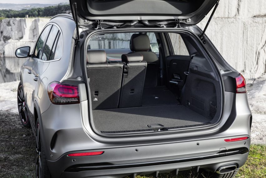 H247 Mercedes-Benz GLA revealed – BMW X2 rival grows taller and receives new tech and engines Image #1058630