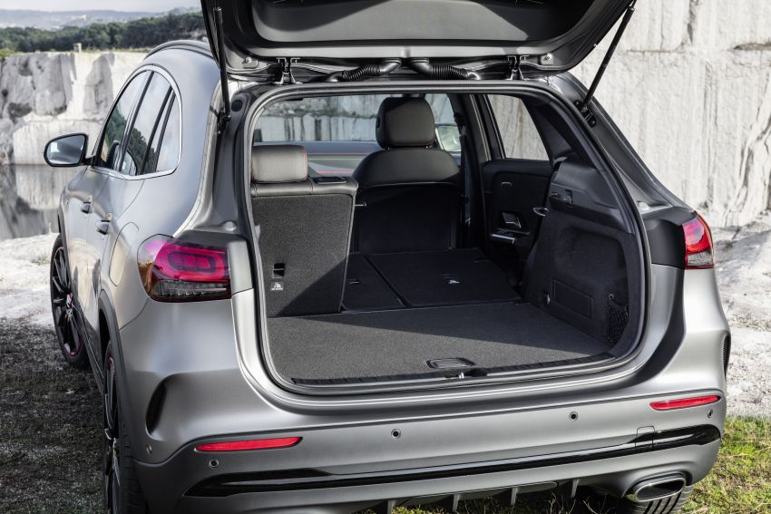 H247 Mercedes-Benz GLA revealed – BMW X2 rival grows taller and receives new tech and engines Image #1058631