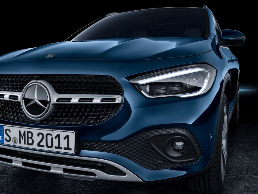 H247 Mercedes-Benz GLA revealed – BMW X2 rival grows taller and receives new tech and engines Image #1058680