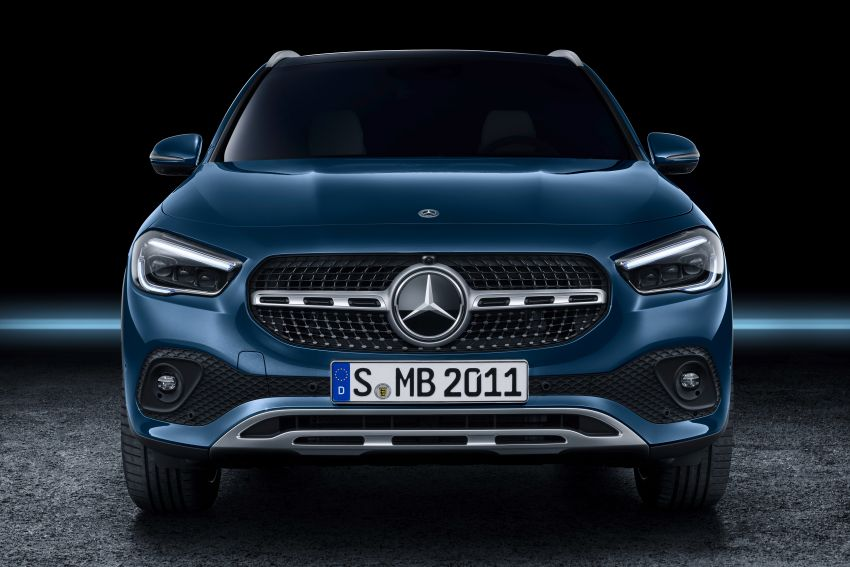 H247 Mercedes-Benz GLA revealed – BMW X2 rival grows taller and receives new tech and engines Image #1058684