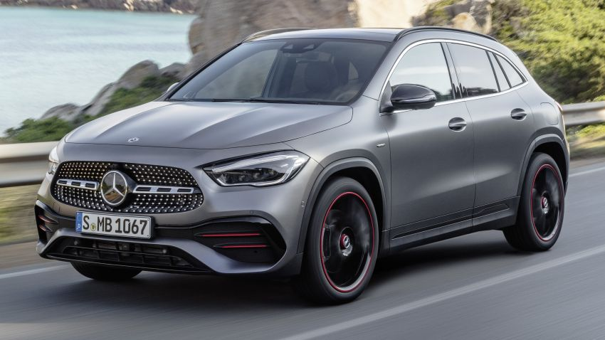H247 Mercedes-Benz GLA revealed – BMW X2 rival grows taller and receives new tech and engines Image #1058603