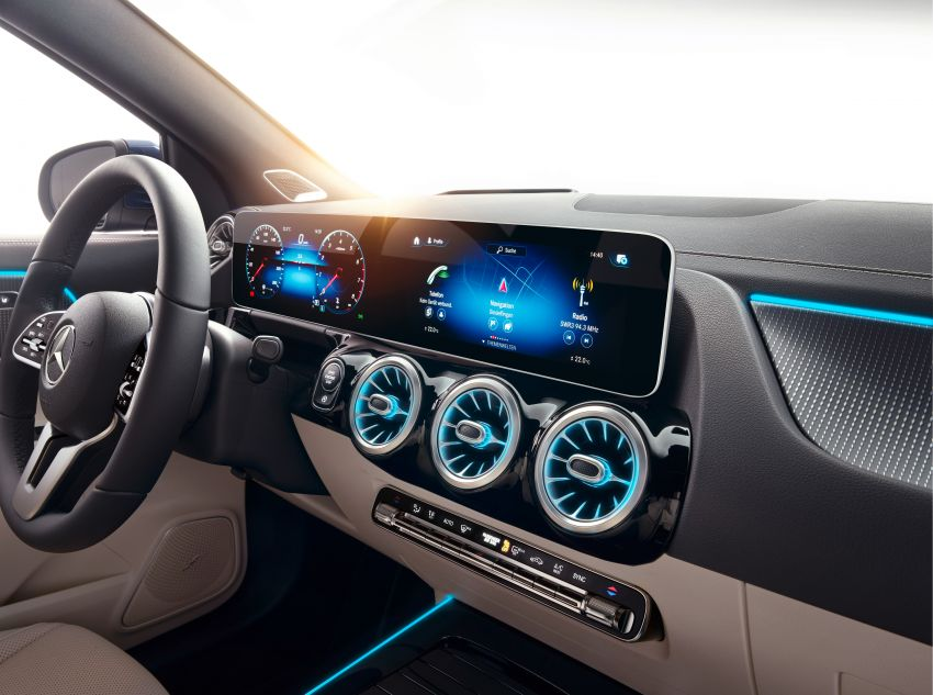 H247 Mercedes-Benz GLA revealed – BMW X2 rival grows taller and receives new tech and engines Image #1058690