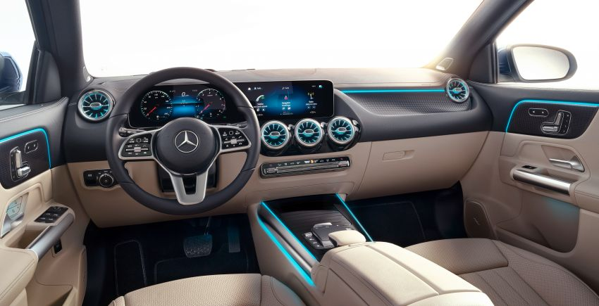 H247 Mercedes-Benz GLA revealed – BMW X2 rival grows taller and receives new tech and engines Image #1058692