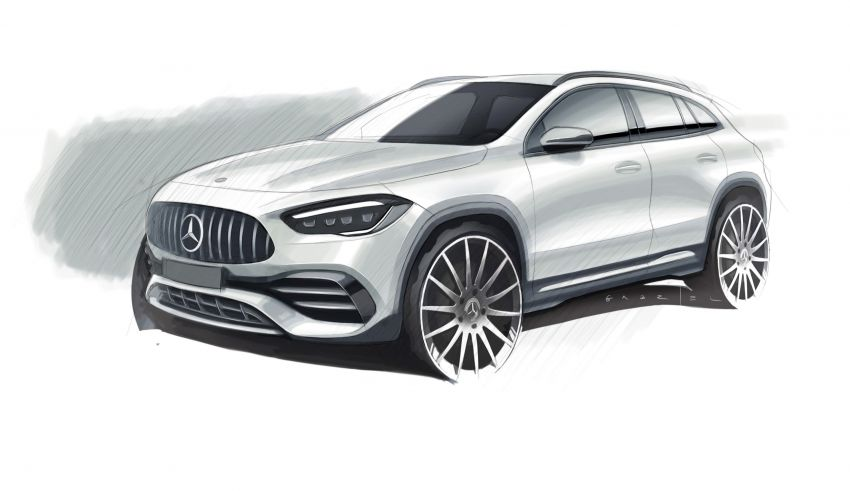 H247 Mercedes-Benz GLA revealed – BMW X2 rival grows taller and receives new tech and engines Image #1058646