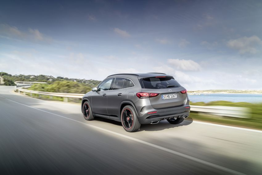 H247 Mercedes-Benz GLA revealed – BMW X2 rival grows taller and receives new tech and engines Image #1058604