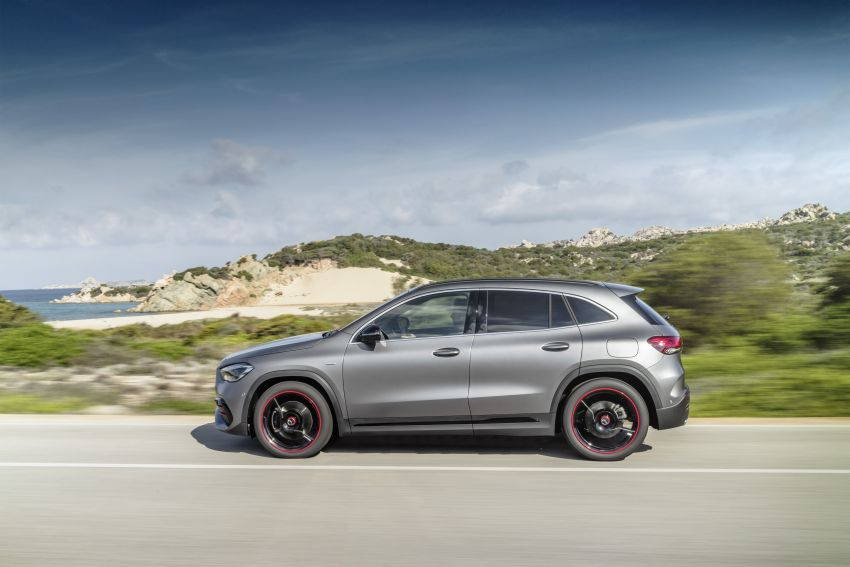H247 Mercedes-Benz GLA revealed – BMW X2 rival grows taller and receives new tech and engines Image #1058605