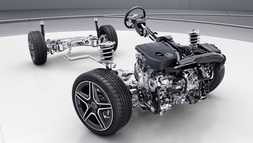 H247 Mercedes-Benz GLA revealed – BMW X2 rival grows taller and receives new tech and engines Image #1058659