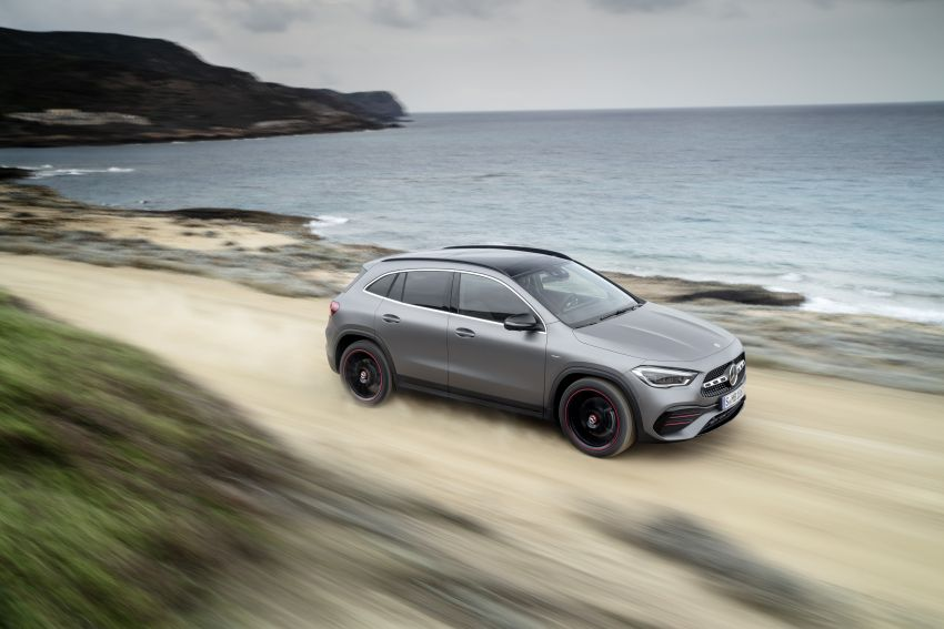 H247 Mercedes-Benz GLA revealed – BMW X2 rival grows taller and receives new tech and engines Image #1058607