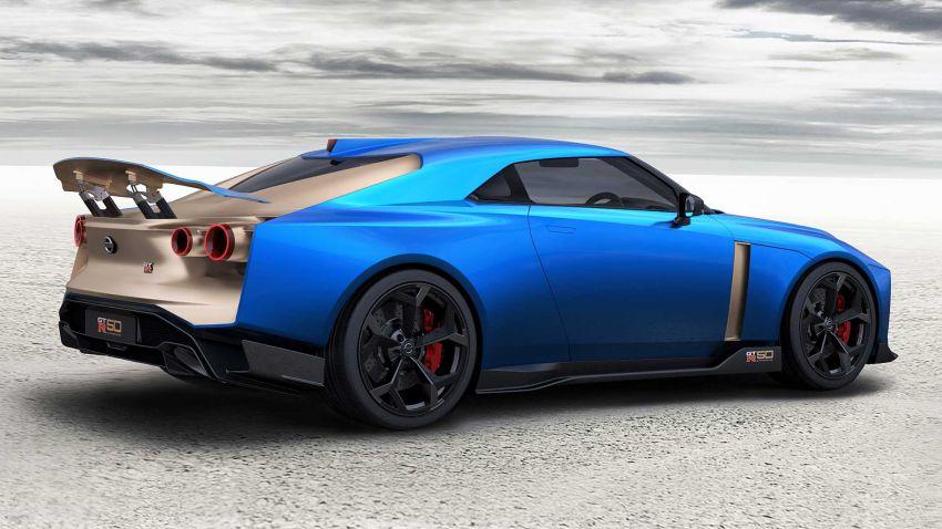 Nissan GT-R50 – produksi sah tahun depan, 720 PS! Image #1056701