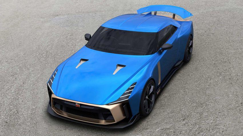 Nissan GT-R50 – produksi sah tahun depan, 720 PS! Image #1056704