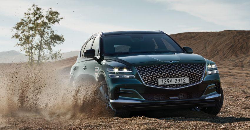 2020 Genesis GV80 flagship SUV debuts – 3.0 litre diesel for South Korea, petrol engines for US market Image #1070278