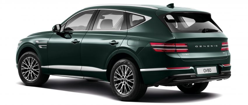 2020 Genesis GV80 flagship SUV debuts – 3.0 litre diesel for South Korea, petrol engines for US market Image #1070254