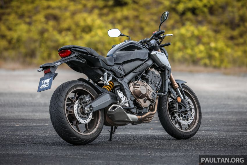 REVIEW: 2019 Honda CBR650R and CB650R – inline-four middleweights for every rider, from RM43,999 Image #1071200