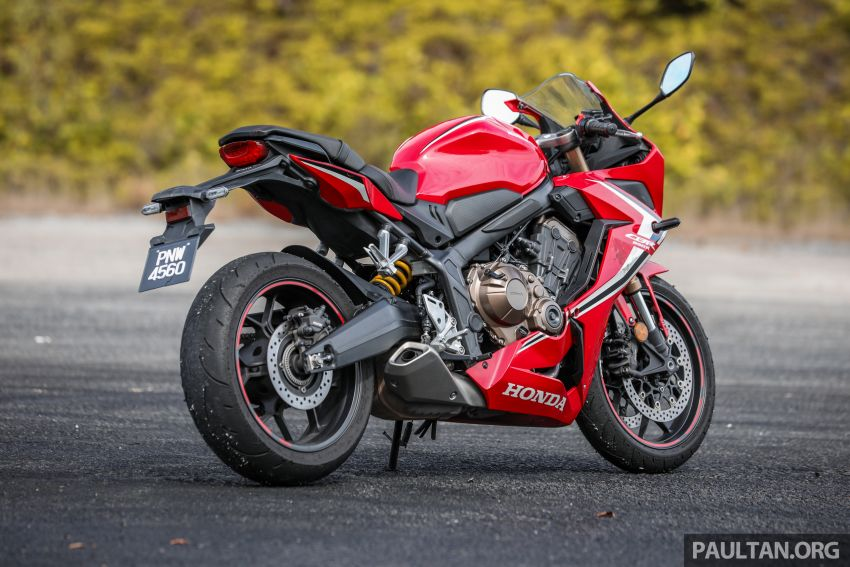 REVIEW: 2019 Honda CBR650R and CB650R – inline-four middleweights for every rider, from RM43,999 Image #1071250