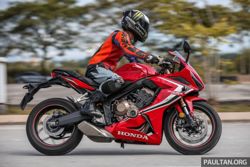 REVIEW: 2019 Honda CBR650R and CB650R – inline-four middleweights for every rider, from RM43,999 Image #1071283