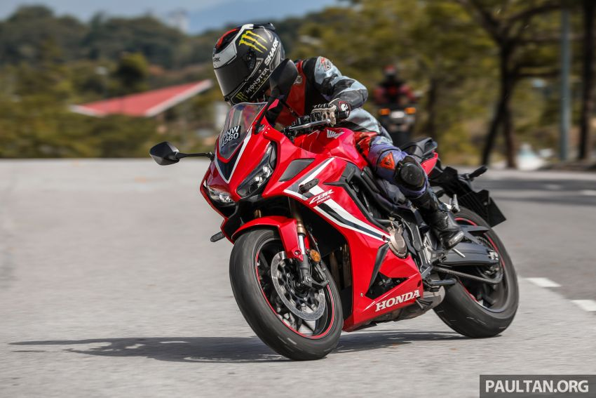 REVIEW: 2019 Honda CBR650R and CB650R – inline-four middleweights for every rider, from RM43,999 Image #1071284