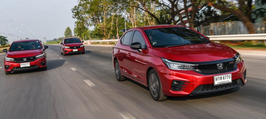GALLERY: 2020 Honda City 1.0L Turbo RS in Thailand Image #1074501