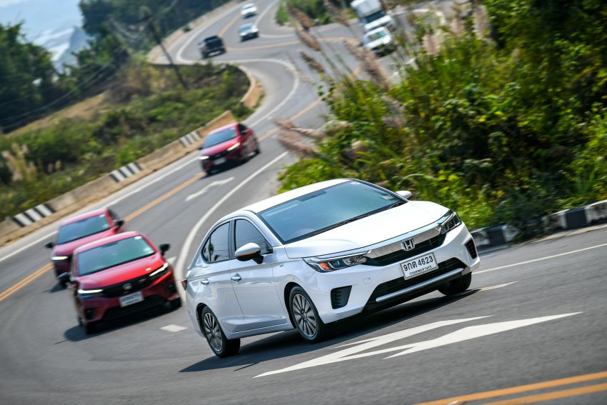 GALLERY: 2020 Honda City 1.0L Turbo RS in Thailand Image #1074507